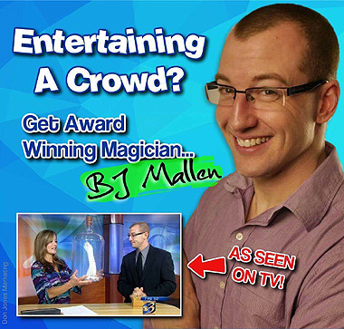 BJ Mallen Comedy Magic